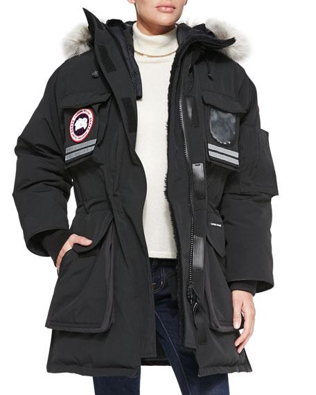 SNOW MANTRA FUR-HOOD COAT
