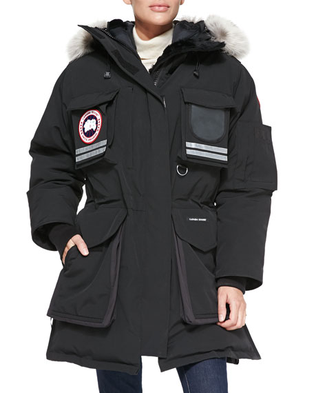 bc0f235f239 Canada Goose Snow Mantra Fur Hood Coat on PopScreen