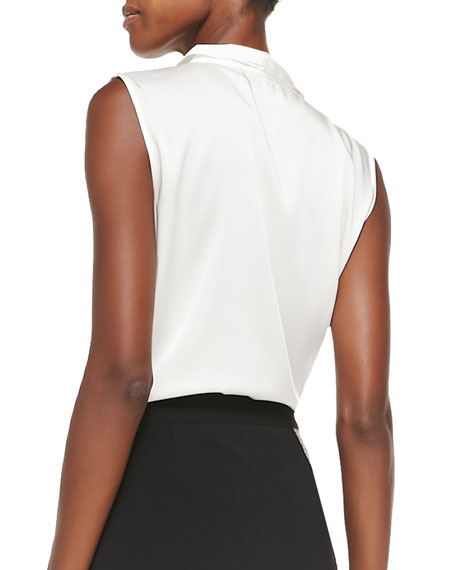 Marlow Sleeveless Georgette Blouse