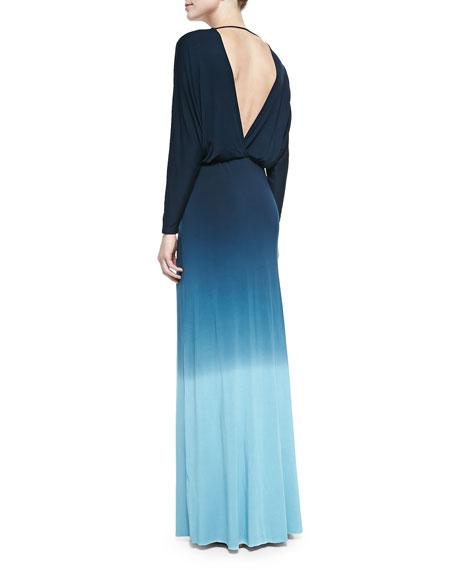 Easton Ombre Slub Maxi Dress