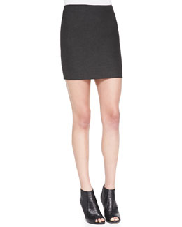 Alice + Olivia Neville Clean Suiting Miniskirt