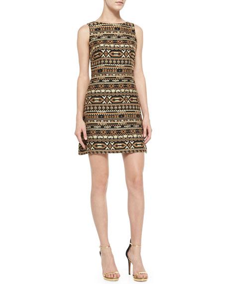 Wilcox Sleeveless A-Line Dress
