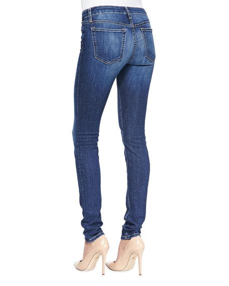 Joe's Jeans Lindz Mid-Rise Skinny Jeans, Medium Blue