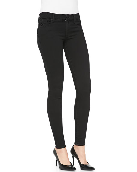Halle Mid-Rise Skinny Jeans, Rebel Voices