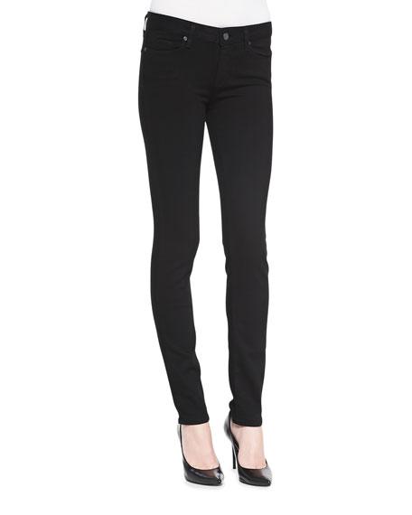 Paige DenimSkyline Skinny Jeans, Black Shadow