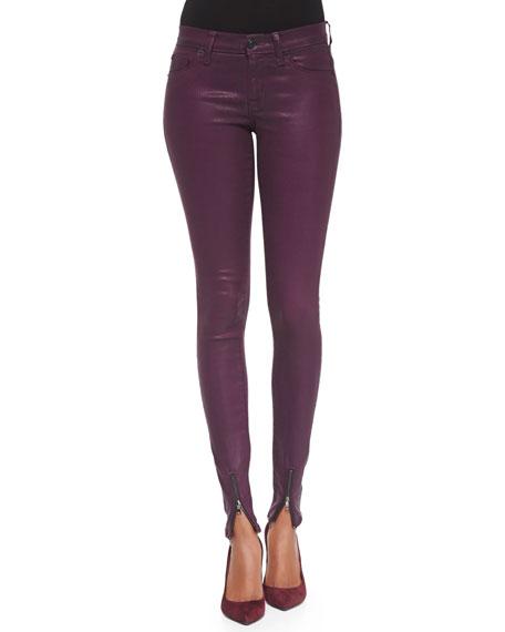 Juliette Zip-Ankle Skinny Jeans
