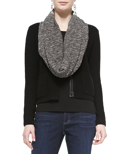 Eileen Fisher Terry Twill Infinity Scarf