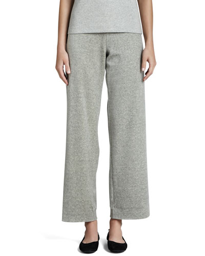 Heather Velour Pants, Women's
