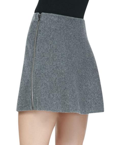 Ixen Felt Miniskirt
