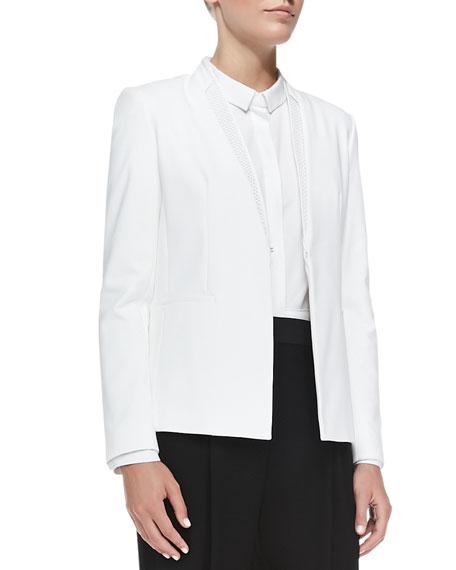 Darcy Mesh-Lapel Jacket