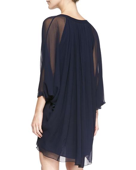 Fleurette Silk Dress