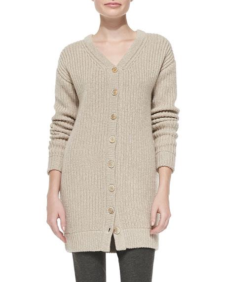 Oversize Chunky Knit Cardigan