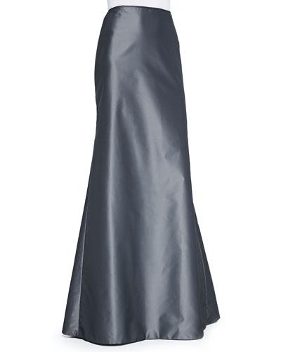 Carmen Marc Valvo Mermaid Ball Skirt, Charcoal