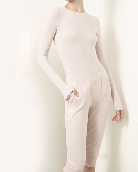 Slim Cuffed Pull-On Sweatpants