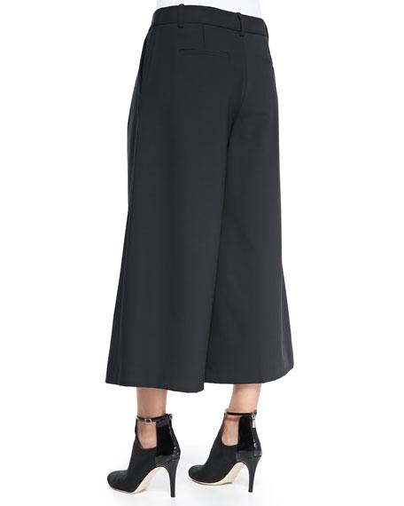 Edie Cropped Wide-Leg Pants