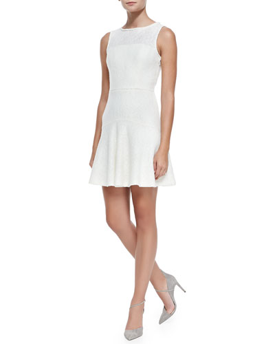 Annapolis Sleeveless Lace Dress