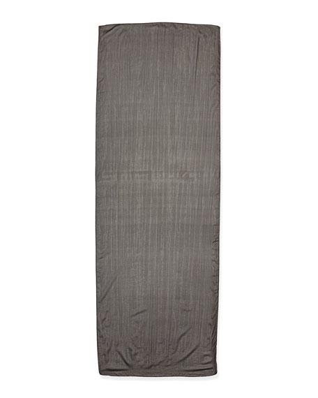 Foiled Chiffon Silk Scarf