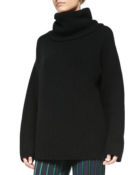 Naven Oversize Knit Turtleneck Sweater