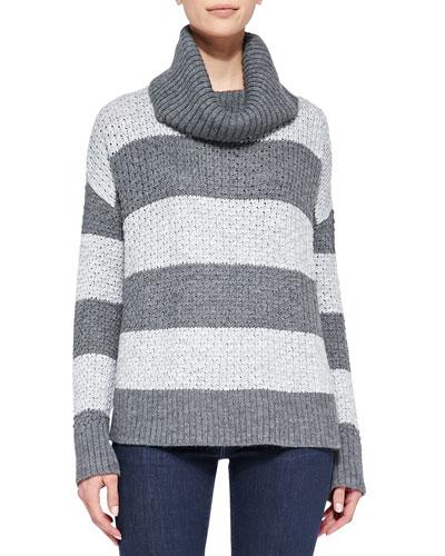 Alice + Olivia Rya Boxy Stripe Sweater