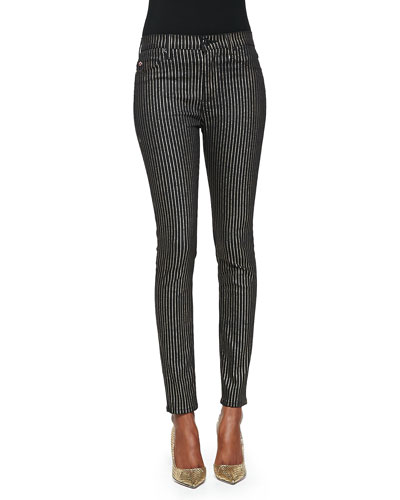 Hudson Barbara High Rise Skinny Jeans, Stiletto