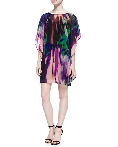 Trina Turk Anissa Double Luxe Silk Dress
