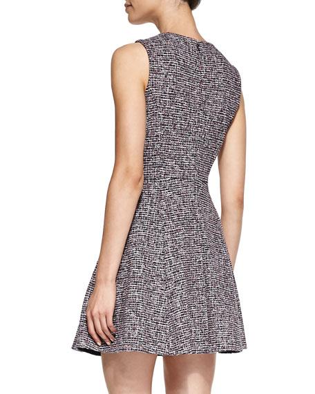 Tillora Printed Flare-Skirt Dress