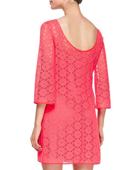 Topanga Lace Tunic Dress
