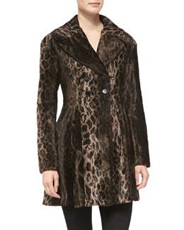 Nanette Lepore High Voltage Leopard-Print Coat