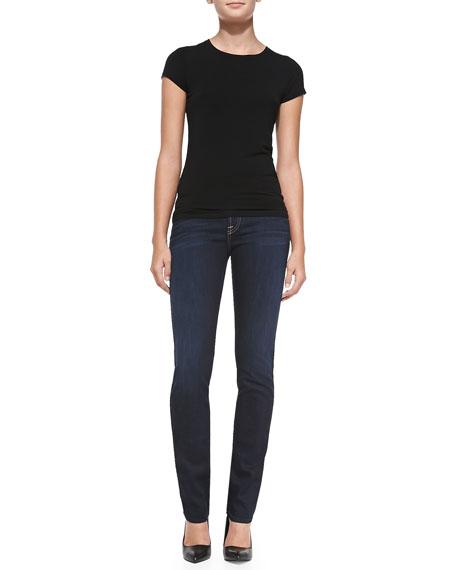 Kimmie Straight-Leg Jeans, Slim Illusion Classic Dark Blue