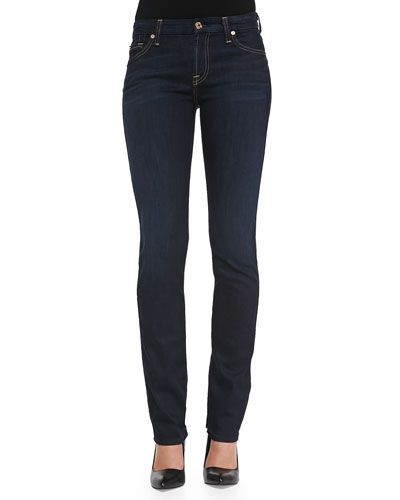 Kimmie Straight-Leg Jeans, Slim Illusion Classic Dark Blue