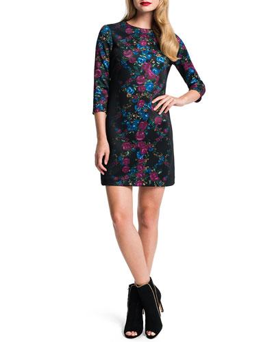 Blythe Floral-Print Dress