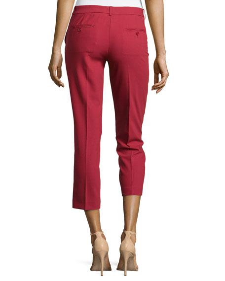Samantha Cropped Skinny Pants, Rose