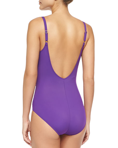 Harmony Surplice Underwire One-Piece
