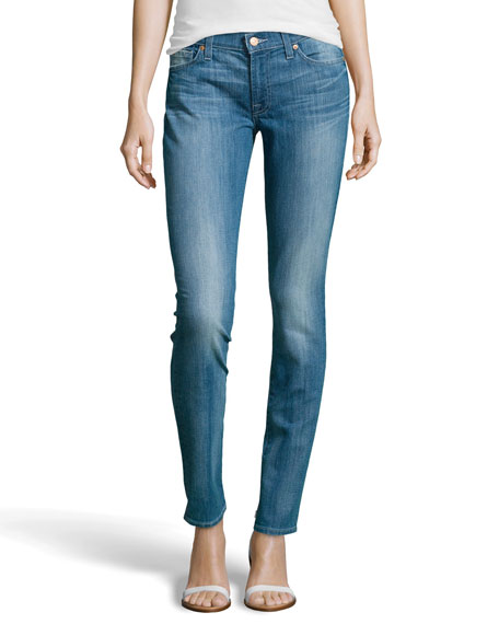 Gwenevere Skinny Jeans, Bright Sky Blue