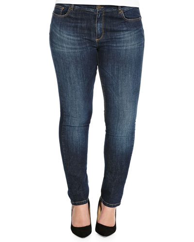 Idioma Low-Rise Stretch Jeans, Women