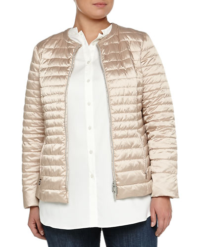 Lilla Quilted Puffer Jacket