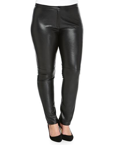 Roma Faux-Leather Pants, Women's