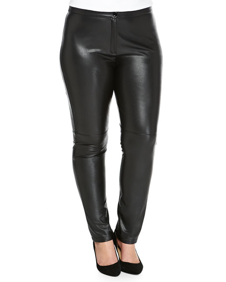 Marina Rinaldi Roma Faux-Leather Pants, Women's