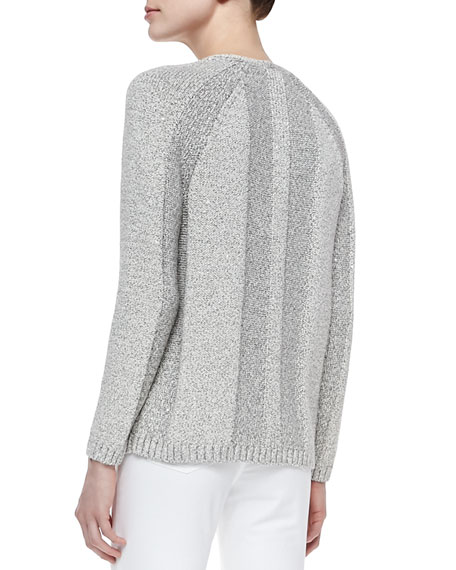 Long-Sleeve V-Neck Sweater