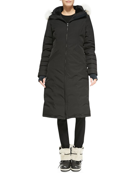 canada goose black label women's elrose parka