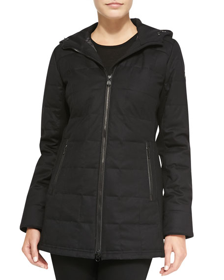 canada goose sable quilted zip jacket