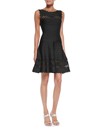 Herve Leger Audrina Cutout Bandage Dress