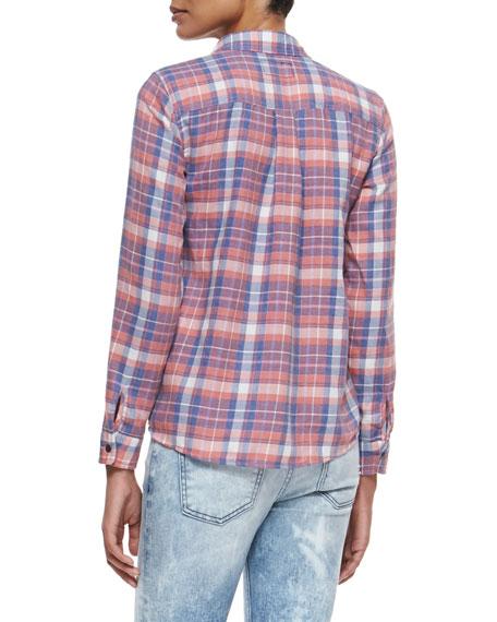 The Slim Plaid Boy Shirt