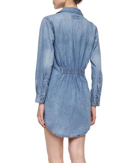 The Prep School Dress, Blue Vibes