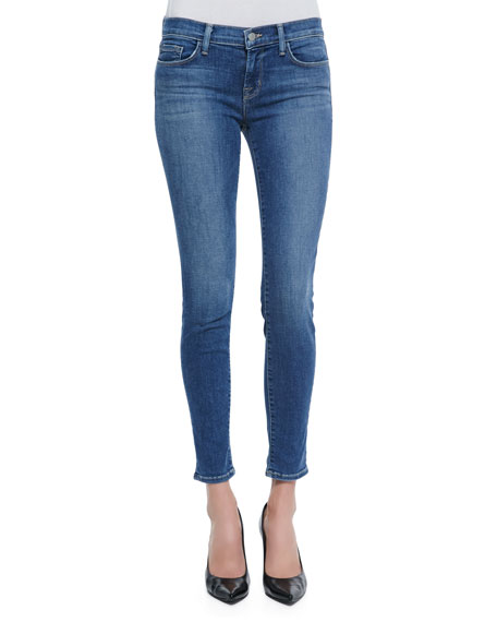 Mid-Rise Skinny-Fit Jeans