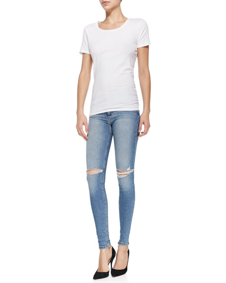 Bernie Flawless Mid-Rise Skinny Jeans