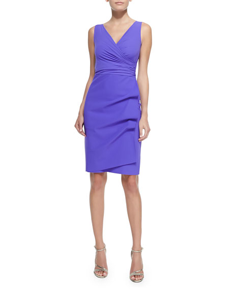 Elaine Sleeveless Jersey Cocktail Dress