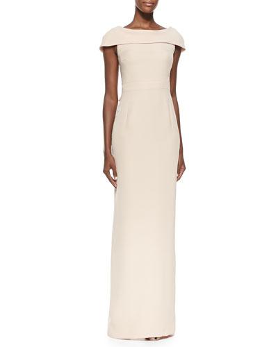 Raoul Bridget Caped Silk Gown