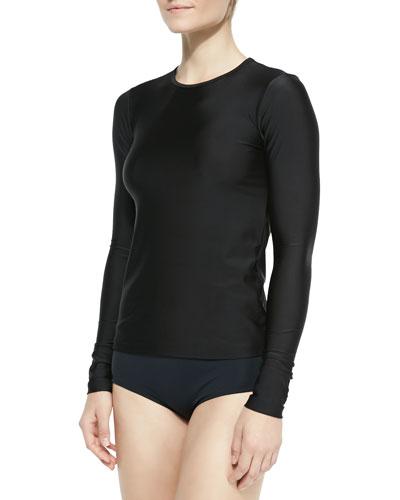 Perfect UPF 50 Swim Tee, Black