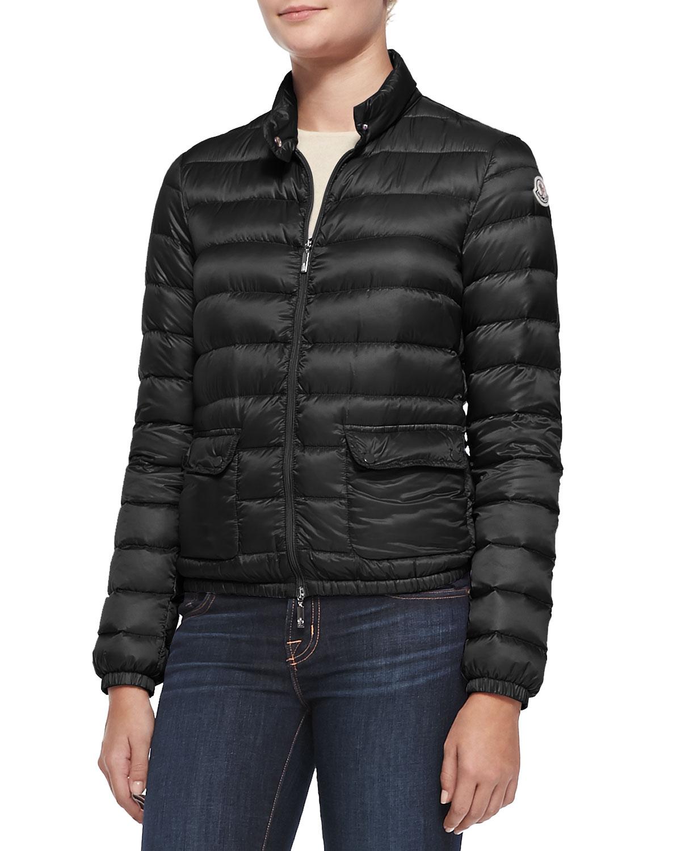 moncler lans short puffer jacket